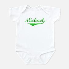 Michael Vintage (Green) Infant Bodysuit