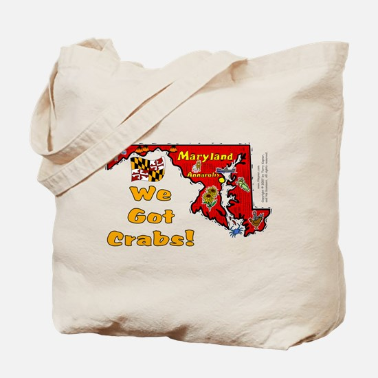 MD-Crabs! Tote Bag
