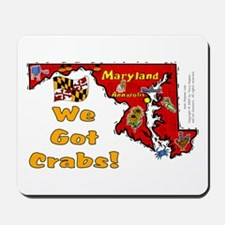 MD-Crabs! Mousepad