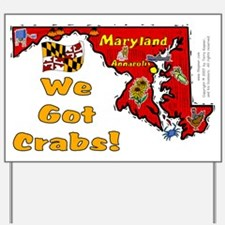 MD-Crabs! Yard Sign