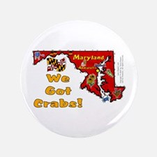 "MD-Crabs! 3.5"" Button (100 pack)"