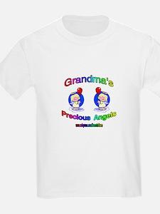 GRANDMA'S PRECIOUS GIRL ANGELS T-Shirt