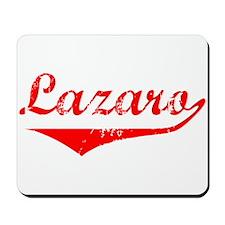 Lazaro Vintage (Red) Mousepad
