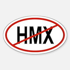 HMX Oval Decal