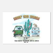 Missin Tree Huggers Postcards (Package of 8)