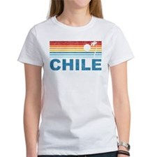 Retro Chile Palm Tree Tee