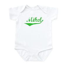 Mikel Vintage (Green) Infant Bodysuit