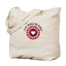 I can change the world Tote Bag