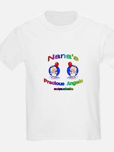 NANA'S PRECIOUS GIRL ANGELS T-Shirt