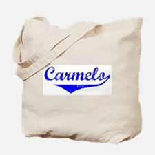 Carmelo Vintage (Blue) Tote Bag