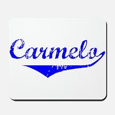 Carmelo Vintage (Blue) Mousepad