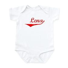 Lena Vintage (Red) Infant Bodysuit