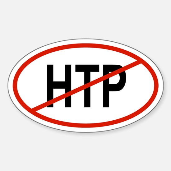 HTP Oval Decal
