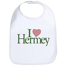 I Love Hermey Bib