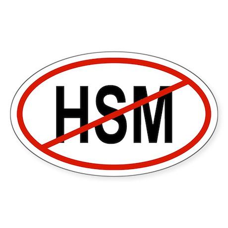 HSM Oval Sticker