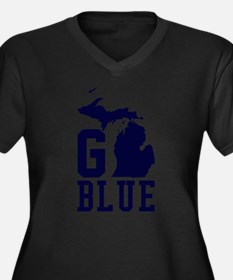 Go BLUE Plus Size T-Shirt