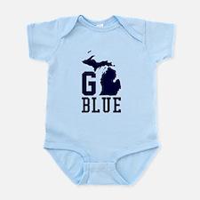 Go BLUE Body Suit