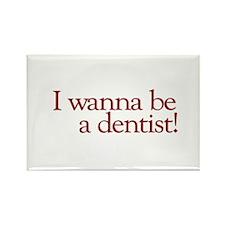 I Wanna be a Dentist (Hermey) Rectangle Magnet