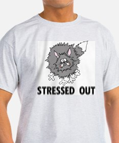 Stressed Out Cat T-Shirt