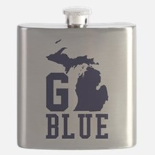 Go BLUE Flask