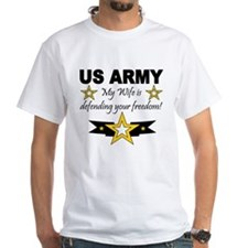 Army - My Wife is defending . Shirt