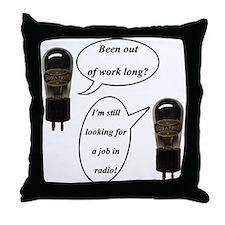Tube Cartoon Throw Pillow