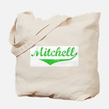 Mitchell Vintage (Green) Tote Bag