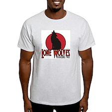 Lone Wolves - Ash Grey T-Shirt