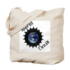 Spoken Chain Tote Bag