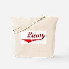 Liam Vintage (Red) Tote Bag