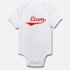 Liam Vintage (Red) Infant Bodysuit