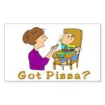 Got Pizza? Rectangle Sticker