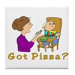 Got Pizza? Tile Coaster