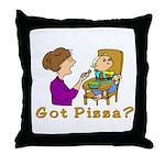 Got Pizza? Throw Pillow