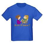 Got Pizza? Kids Dark T-Shirt