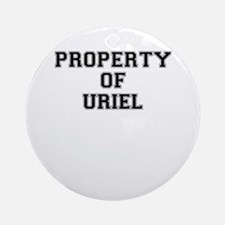 Property of URIEL Round Ornament