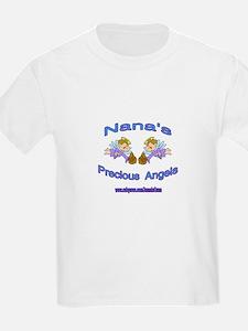 NANA'S PRECIOUS BOY ANGELS T-Shirt