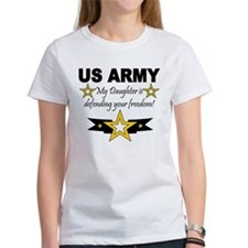 ARMy My Daughter is defending Tee