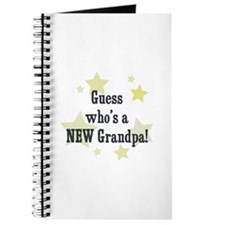 Guess who's a NEW Grandpa! Journal
