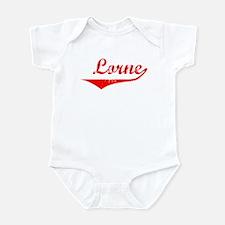 Lorne Vintage (Red) Infant Bodysuit