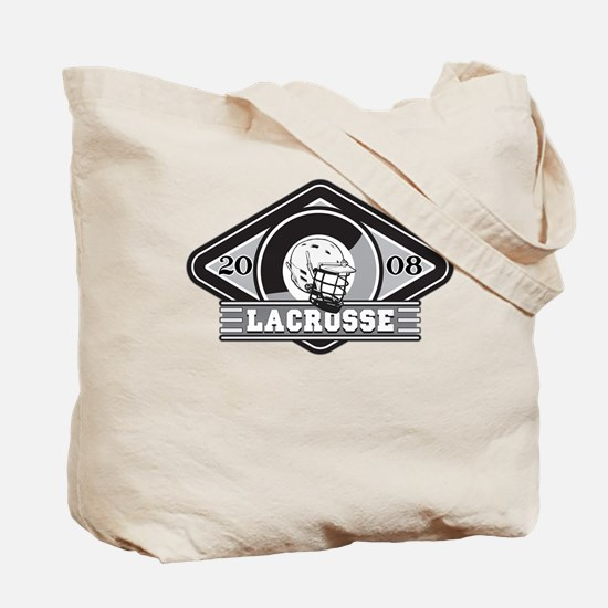 2008 Lacrosse Logo Tote Bag
