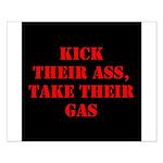 Kick Their Ass, Take Their Ga Small Poster