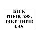 Kick Their Ass, Take Their Ga Mini Poster Print