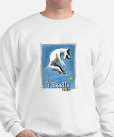 Jack Russells Rule Sweater