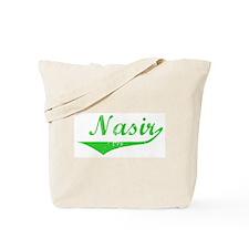 Nasir Vintage (Green) Tote Bag