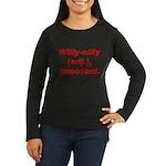 Willy-Nilly Women's Long Sleeve Dark T-Shirt