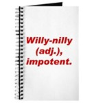 Willy-Nilly Journal