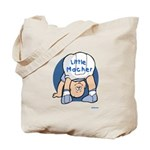Yiddish Little Macher Tote Bag