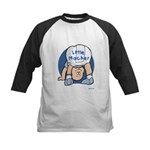 Yiddish Little Macher Kids Baseball Jersey