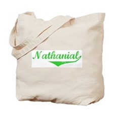 Nathanial Vintage (Green) Tote Bag